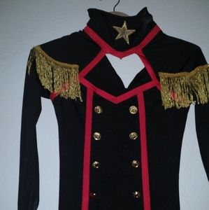 Leg Avenue Pants - Women's Military Keyhole Catsuit Costume